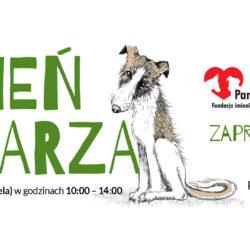 DzienPsiarza zaproszenie 250x250 - Dzień Psiarza - to już niedługo!!!! 19 maj, sobota, Pałacyk Zielińskich w Kielcach!